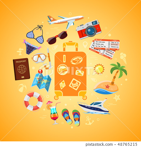 Vacation Travel and Summer Concept 48765215