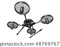 Drone (with camera · transparent material) 48769767