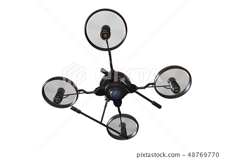 Drone (with camera · transparent material) 48769770
