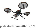 Drone (with camera · transparent material) 48769771