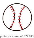 Baseball Ball 48777383