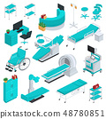Medical equipment vector clinic technology healthcare treatment in hospital illustration medicable 48780851