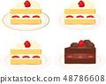 短蛋糕 48786608