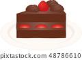 短蛋糕 48786610