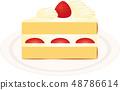 短蛋糕 48786614