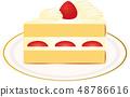 短蛋糕 48786616