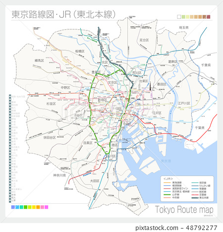 Tokyo route map, JR (Tohoku Main Line) 48792277