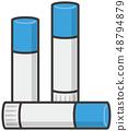 Illustration of glue 48794879