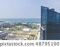 Marina Bay aerial building architecture Singapore 48795100