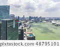 Marina Bay aerial building architecture Singapore 48795101
