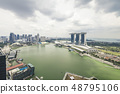 Marina Bay aerial building architecture Singapore 48795106