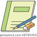 Pencil _ note _ eraser 48795450
