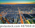 Evening view from Abeno Harukas / Osaka 48796818