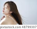 여성 뷰티 이미지 헤어 스타일 48799307