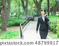 Office suit Woman in a suit Office lady OL Business suit Portrait Recruit 48799917