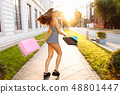 Young attractive girl in sunglasses 48801447