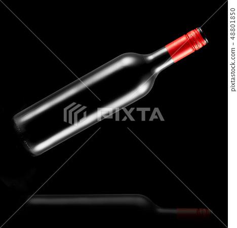 flying,bottle,wine,blackbackground,alcohol, winery 48801850