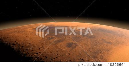 Planet Mars 48806664