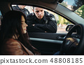car, policeman, vehicle 48808185
