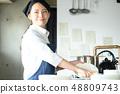厨房餐厅女性 48809743