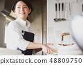 厨房餐厅女性 48809750