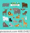 สัตว์,สัตว์ต่างๆ,เวกเตอร์ 48815482