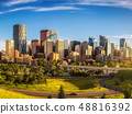 City skyline of Calgary, Canada 48816392
