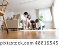 一家四口,父母和小孩,每天,好朋友,家庭團體 48819545