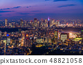 Tokyo city view Evening view Twilight 48821058