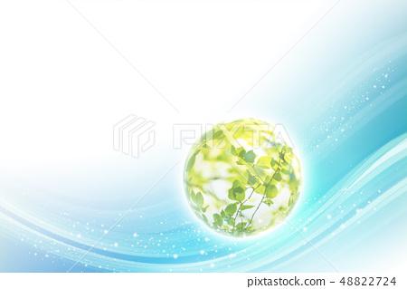에코, 친환경, 잎 48822724