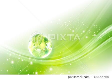 곡선, 초록, 그린 48822760
