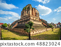 Wat Chedi Luang is a Buddhist temple in the 48823024
