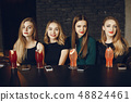 girls with cocktails 48824461