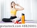 女子運動服瑜伽 48826001