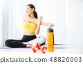女子运动服瑜伽 48826003