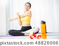 女子運動服瑜伽 48826006