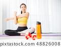女子運動服瑜伽 48826008