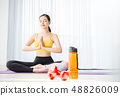 女子运动服瑜伽 48826009