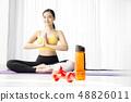 女子運動服瑜伽 48826011
