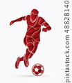 球 足球 男性 48828140