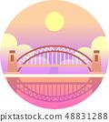 海港大橋 橋 澳大利亞 48831288