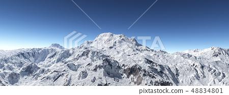 Mountain panorama 48834801