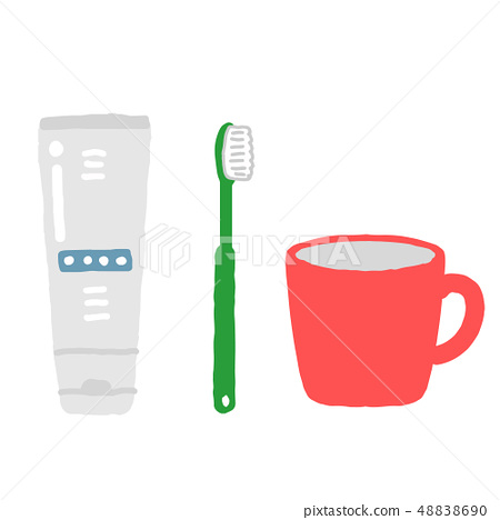牙膏牙刷杯 48838690