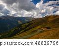 Autumn scenery in Tyrolean Alps in Austria. 48839796