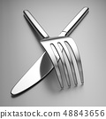 Knife and fork 48843656