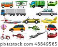 Set of transportation vehicle 48849565