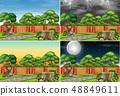 Set of background scenes 48849611