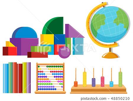 Set of math toys 48850210