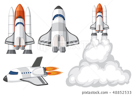 Set of isolated spaceship 48852533