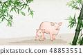 動物 日曆 月曆 48853551